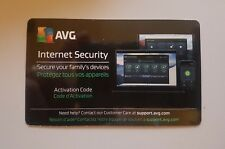 AVG INTERNET SECURITY 2017 ANTIVIRUS 1 YEAR DOWNLOAD CODE CARD UNLIMITED DEVICES