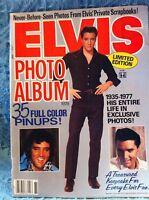 NOS 1977 ELVIS PHOTO ALBUM LIMITED EDITION  MAGAZINE