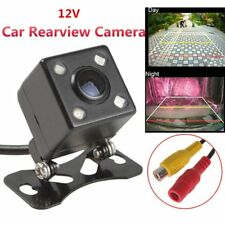 Car Backup Camera Rear View Reverse 170° Waterproof 4 LED HD CCD Night Vision AU