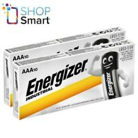 20 ENERGIZER AAA BATTERIES INDUSTRIAL ALKALINE LR03 1.5V MICRO MN2400 AM4 E92