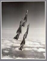 HAWKER HUNTER F1 FORMATION LARGE VINTAGE PHOTO RAF ROYAL AIR FORCE