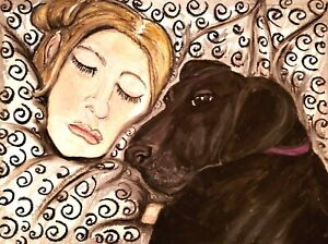 CUSTOM ORDER Original 9x12 Painting Pet Person portrait from your photo by KSams