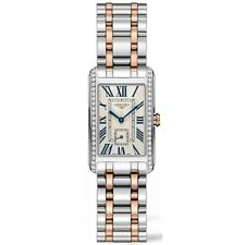 New Longines Dolce Vita Diamond Two-Tone Ladies Stainless Steel Watch L55125797