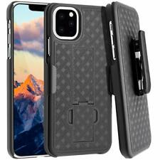 FOR IPHONE 11 PRO MAX SHELL HOLSTER BELT CLIP COMBO CASE COVER WITH KICKSTAND