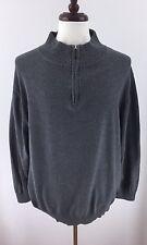 Tailorbyrd Mens XXL Gray Half Zip Pullover L-16