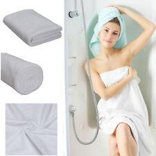 Serviettes, draps et gants de salle de bain blanc sans marque