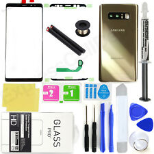 For Samsung Galaxy Note 8 N950 <OEM Gold>Front Screen Glass Back Replacement Kit