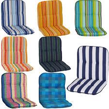 Gartenstuhl Auflage Capri Niedriglehner Sitzauflagen Stuhlauflage Polster Kissen