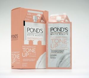 7gx6 POND'S WHITE BEAUTY INSTABRIGHT TONE UP MILK CREAM UVA/UVB FILTER