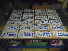 More details for genuine american usa alabama state number plates x 27! ideal man cave/display