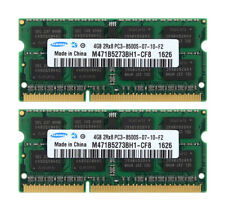 Samsung 8GB 2x 4GB 2RX8 DDR3 1066MHz PC3-8500S 204PIN SO-DIMM Laptop RAM Memory