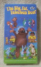 THE BIG FAT FABULOUS BEAR Vhs Video Tape 1995 Animated Film Janosch NEW Sealed