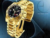 Invicta Reserve Men's Excursion Swiss Made Chrono Black MOP 18K Gold Tone Watch