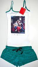 Friends PJ Set Pyjamas Primark Vest Shorts Womens Ladies F.R.I.E.N.D.S UK Sizes