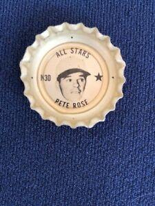 Coke Coca Cola Baseball Bottle Cap Crown Pete Rose Cincinnati Reds Palmerton Pa