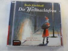 Bodo Kirchhoff - Die Weihnachtsfrau - Audiobook -  sehr gut erhalten
