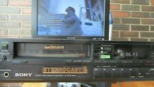 Sony Super BetaMax Sl-Hf 450 Vcr looks great, and operates as it should!
