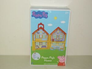 PEPPA PIG HOME Playset with House, Figure, Funiture