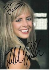 Isabel Edvardsson   TV  Autogrammkarte  original signiert 368844