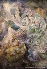 Persian Farshchian Painting Print Fine Art Hafiz Poem Farsi Calligraphy Hafez 22