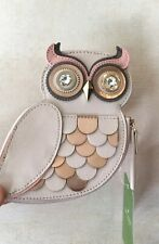 Kate Spade New York Blaze a Trail Owl Leather Embellished Coin Purse $79 NWT