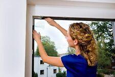 Moustiquaire Standard Protection Insectes Fenêtre Blanche 1.30m x 1.50m, Blanche