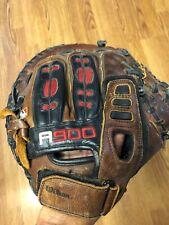 "Wilson A0900 3XCM Catcher Baseball Glove Mitt Right Hand RHT 32 3/4"" ECCO, Nice"