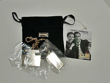 "Dolce & Gabbana ""The One"" Key Ring/Key chain with carrying bag, New, Authentic"