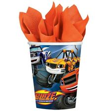 Blaze Birthday Party Paper Cups 266ml - 8pack