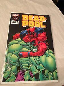 Deadpool #4 VS the Hulk Not For Resale Marvel Comics 1997 marvel legends reprint