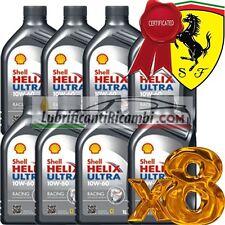 Olio motore auto - Shell Helix Ultra Racing 10W-60 - Offerta 8 Litri Latta da s