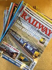 More details for collection of 32 issues of , the railway magazine , inc free inserts etc ...