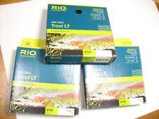 3 Rio Trout Lt fly fishing lines new in box - batch #14