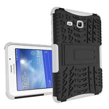 Ultrathin Tire Pattern Silicone+PC Shockproof Stand Case For Samsung Galaxy Tab