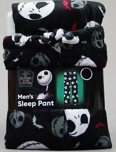 Disney Nightmare Before Christmas Soft Fleece Sleep Pants Men Size Large NWT