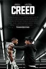 Creed Original D/S Michael Jordan Boxing Movie Poster 27x40 Rocky 2015 Stallone