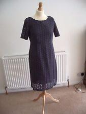 Gorgeous NEW White Stuff sz 10 - 12 grey dress lined