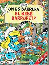 On es barrufa el Bebè barrufet? Peyo.