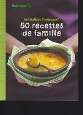 50 RECETTES DE FAMILLE thermomix Vorwerk