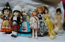 lot 1 7 Vintage1960's Dime Store Dolls, 90'S Vynal Country Doll
