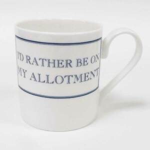 Stubbs Allotment Mug - I'd Rather be on my Allotment - Boxed - Garden Gift
