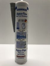 (€31,60L)WEICON AQUA-Flex GRAU Kleb- Dichtstoff 310ml unter Wasser Auqarium,Dach