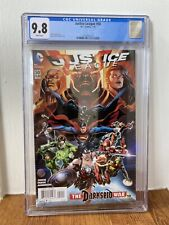 Justice League #50 (CGC 9.8) - 1st Print - 1st Jessica Cruz as Green Lantern