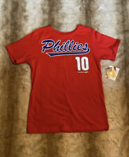 NEW- Philadelphia Phillies JT Realmuto T-Shirt Youth Size Small 6/7
