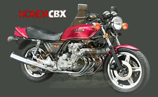 Honda CBX Red 2 Fridge Magnet