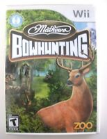 Mathews Bowhunting - Nintendo Wii Game - Complete & Tested