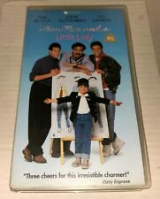 Three Men And a Little Lady Video Tape,VHS.Selleck,Guttenburg,Danson,F/Free P&P