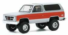 Greenlight 1984 GMC Jimmy Grey / Red Diecast Model Car 35170-D