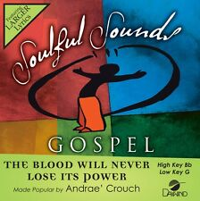 Andrae Crouch - The Blood Will Never Lose Its Power -  Accompaniment CD NEW
