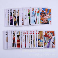 Collectible Playing Card/Poker Anime One Piece Series Luffy Figure Pattern 1 Set